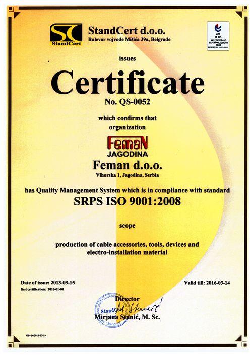Feman-SRPS-ISO-9001-e
